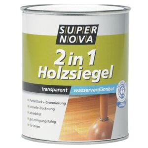 Acryl 2 in 1 Holzsiegel Super Nova Farblos 0.75l