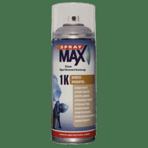 SprayMax 1K Spritzspachtel grau 400ml Spraydose
