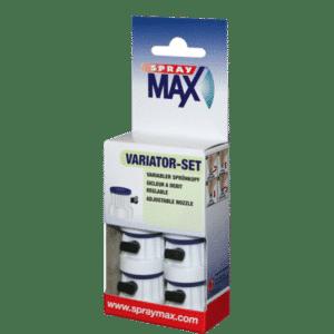 SprayMax Variator Sprühkopf Set Inhalt 6 variable Sprühköpfe 1